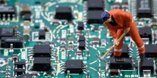 Electronic world 3 Royalty Free Stock Photo