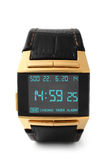 Electronic wristwatch Royalty Free Stock Photography