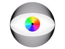 Electronical eye Royalty Free Stock Image
