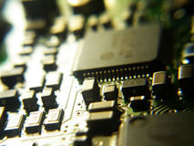 Electronics. Electronic board Royalty Free Stock Photos