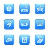 Electronics 2 web icons Royalty Free Stock Images
