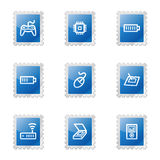 Electronics 2 web icons Stock Photos