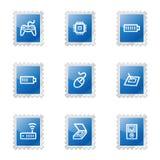 Electronics 2 web icons Stock Photos