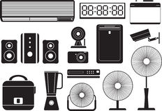 Electronics2 stock illustrationer