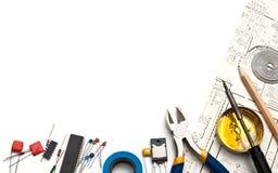 Electronics background Royalty Free Stock Image