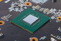 Computer part close-up board Stock Image