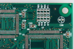 Electronics board Stock Images