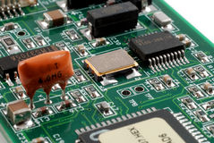 Electronics boards Stock Photo