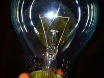 ELECTRONIC LIGHTING BULB royalty free stock images