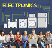 Electronics Capacitor Contemporary Technology Concept Royalty Free Stock Photos