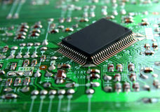 Electronics Chip Stock Photography