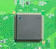 Electronics circuit background Stock Images