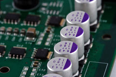 Electronics circuit board Royalty Free Stock Photos