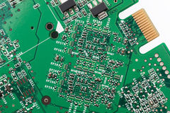 Electronics circuitry Stock Photography