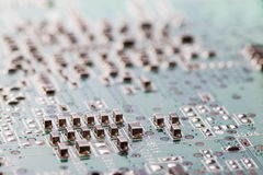 Electronics circuitry Royalty Free Stock Photo