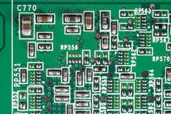 Electronics circuitry Royalty Free Stock Photography