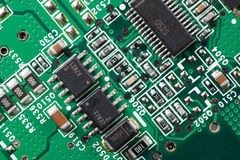 Electronics circuitry Stock Images