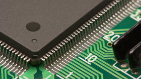 Electronics closeup Royalty Free Stock Image