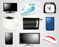 Electronics Collection Royalty Free Stock Photo