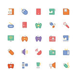 Electronics Colored Vector Icons 2 Royalty Free Stock Images