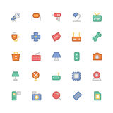 Electronics Colored Vector Icons 8 Stock Photo