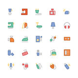 Electronics Colored Vector Icons 4 Royalty Free Stock Photography