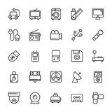 Electronics Colored Vector Icons 7. Set of Electronics Vector Icons that are great for designers, web design templates, android applications or any kind of Stock Photo