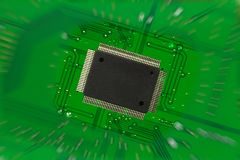 Electronics component Royalty Free Stock Images