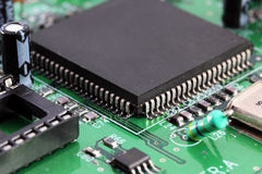 Electronics  components Stock Image