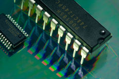 Electronics components Royalty Free Stock Images