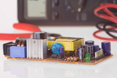 Electronics components Royalty Free Stock Image