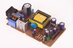 Electronics components Stock Image