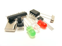 Electronics components Stock Photos