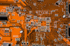 Electronics computer part chip Stock Image