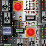 Electronics dashboard Stock Image