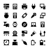 Electronics and Devices Vector Icons 3 Royalty Free Stock Photo