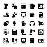 Electronics and Devices Vector Icons 6 Royalty Free Stock Photography