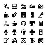 Electronics and Devices Vector Icons 2 Royalty Free Stock Images
