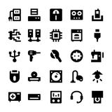Electronics and Devices Vector Icons 5 Stock Images