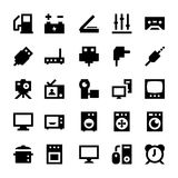 Electronics and Devices Vector Icons 7 Royalty Free Stock Images