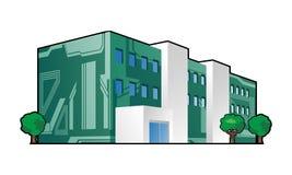 Electronics factory royalty free illustration