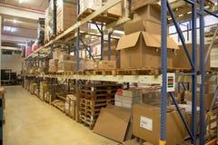 Electronics Factory warehouse Stock Photo