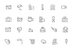 Electronics Hand Drawn Doodle Icons 5 Royalty Free Stock Images