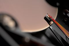 Electronics - Hard disk Stock Photo