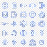 Electronics Icon set. 25 Vector Icons Pack vector illustration