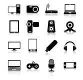 Electronics icons Royalty Free Stock Photo