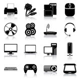 Electronics icons Royalty Free Stock Photos