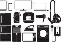 Electronics. Illustration equipment - Electronics  icon set Stock Images
