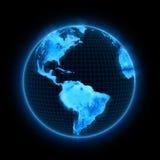 Electronics planet. Royalty Free Stock Image