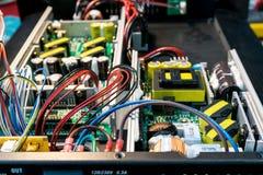 Electronics powers control. Stock Photo
